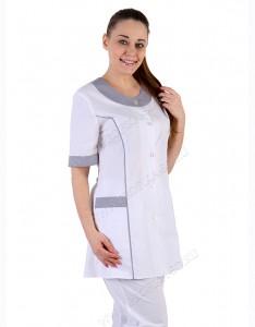 """Модная медицинская одежда. Блузон для медицинских центров """"Виола"""