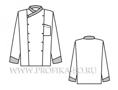 """Поварская куртка """"Блюз"""""""