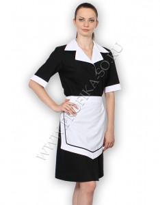 Пошив спецодежды для персонала форма горничной платье Ирина