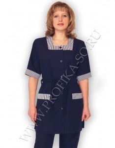 """Одежда для персонала гостиниц, костюм """"Ольга"""" для горничных и техперсонала."""