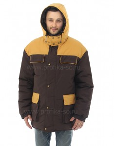 Утепленная куртка для технического персонала .