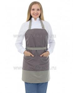 """Униформа для персонала Фартук для продавца """"Грей"""""""