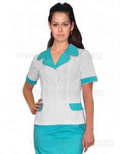"""Модная медицинская одежда. Блузон для медицинских центров """"Рита"""""""