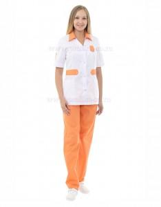 Модная медицинская одежда костюм медицинский Глория