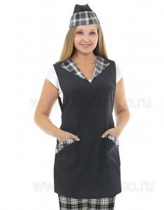 """Униформа для персонала магазина Фартук продавца """"Кристалл"""""""
