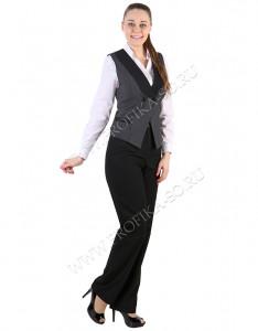 """Костюм с жилетом """"Танго"""" для персонала отеля и ресторана"""