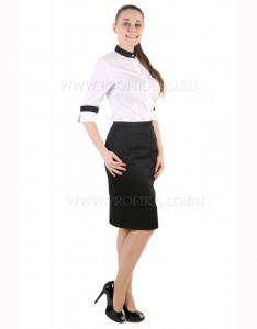 """Костюм с блузкой """"Инесса"""" для администрации отеля и ресторана"""