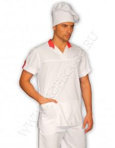 """Одежда для поваров туника  """"Орион"""" для персонала ресторана"""