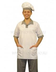 Спецодежда для повара. Туника для работников Кухни.