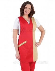 """Униформа для горничной Фартук """"Крокус""""  для персонала"""