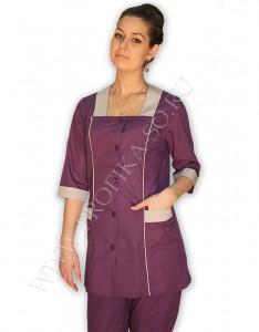 Блузоны и халаты