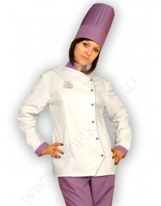 """Поварская форма. Куртка поварская женская """"Коктейль"""""""
