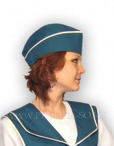 Пилотка с кантом