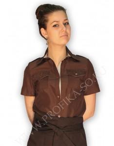Пошив формы на заказ Блузка  Флай  для персонала отеля