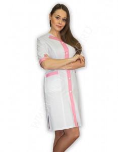 """Модная медицинская одежда.Халат """"Глазурь""""  для медицинского персонала"""