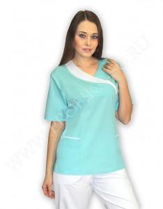 """Модная медицинская одежда.Туника """"Паллада"""" для медицинского персонала"""